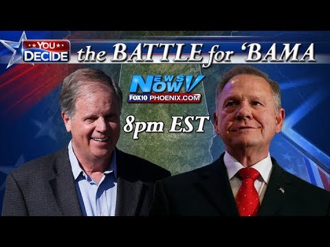 LIVESTREAM: Alabama Special Election Senate Race LIVE Results - Roy Moore - Doug Jones