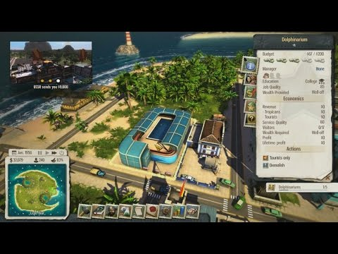 Let's Play Tropico 5 - 20 - Surf's Up DLC