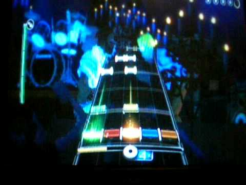 Rock Band 2 Rock and Roll Band 100% FC Expert Guitar 1st Place Wii