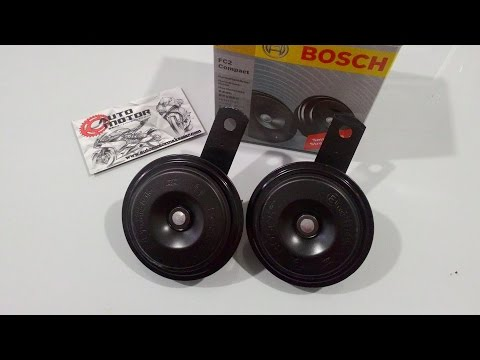 Bosch Automotive Horns FC2, EC6 and H3F Sound Tests