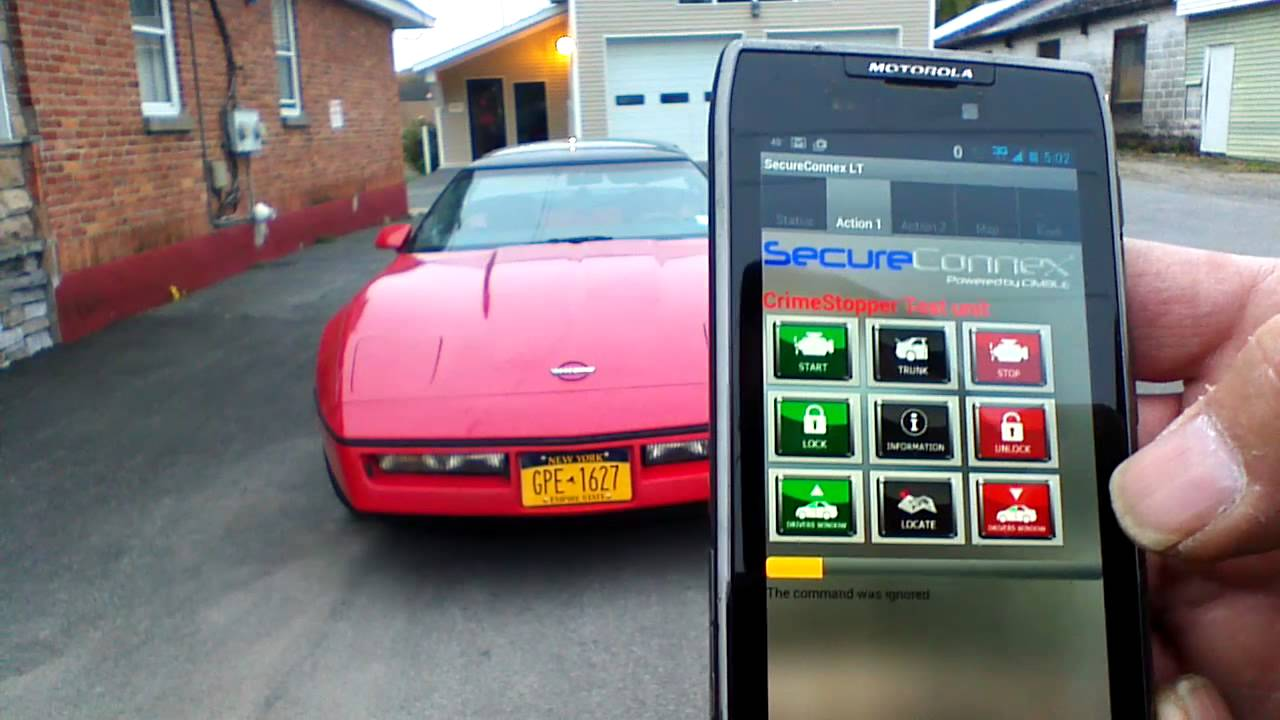 Remote Car Starter App >> Smart Phone App For Remote Car Starter