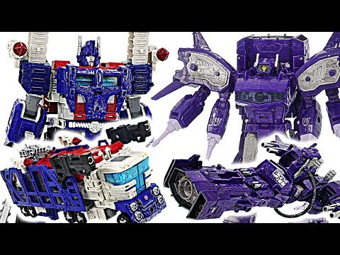 Transformers Generations War for Cybertron: Siege! Ultra Magnus VS Shockwave! #DuDuPopTOY