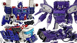 Transformers Generations War for Cybertron: Siege! Ultra Magnus VS Shockwave! #DuDuPopTOY