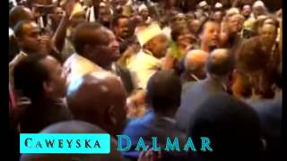 ETHIOPIAN GOVERNMENT OFFICIALS DANCING WITH SOMALI MUSIC