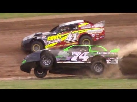 Street Stock Heat One | McKean County Family Raceway | 7-3-18