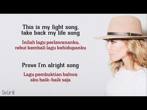 Fight Song - Rachel Platten (Lyrics Video Dan Terjemahan)