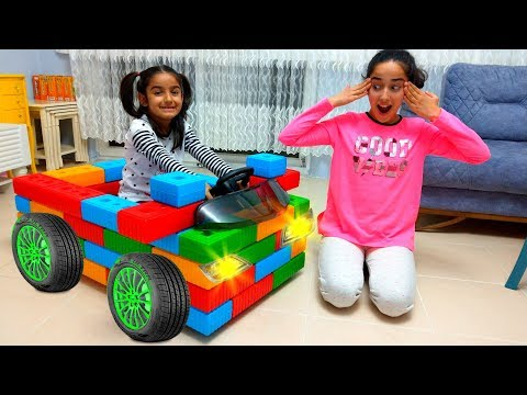 Esma  made a Toy Car  Fun Kid Video