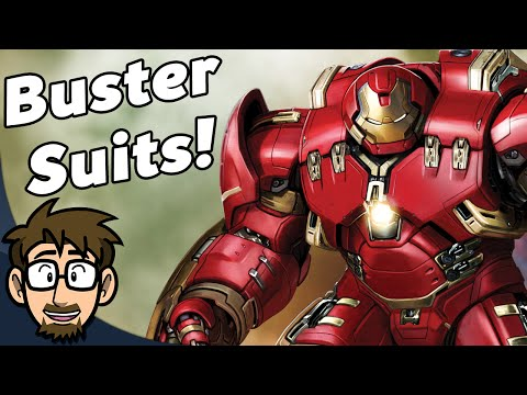 ALL Of Iron Man's Buster Suits Explained - Comic Drake