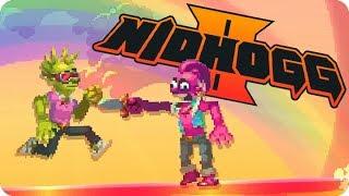 Video de ¡VERDE VS ROSA! ARCOIRIS EDITION | NIDHOGG 2