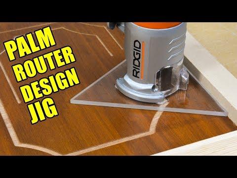 Trim Router / Palm Router Design Base Jig