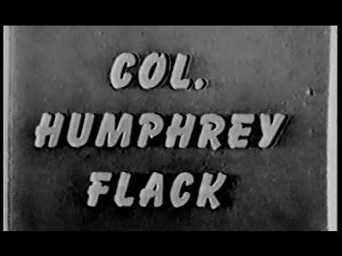 "COLONEL HUMPHREY FLACK ""The Missing Heir"" - November 1953"