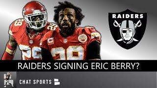 Eric Berry To Raiders Rumors? Raiders News On Gareon Conley Injury, Keelan Doss & Chiefs NFL Week 2