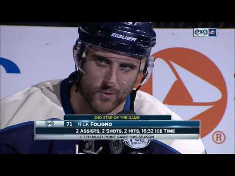Nick Foligno credits fans for helping Blue Jackets become NHL's best team