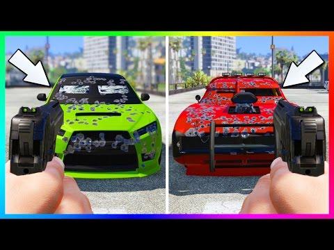 NEW BEST ARMORED CAR IN GTA ONLINE & BULLETPROOF TESTS - DUKE O DEATH VS INSURGENT VS KURUMA!
