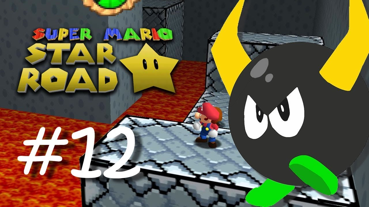 Super Mario Star Road [#12] - Retro Remix Castle - (N64 Rom Hack)