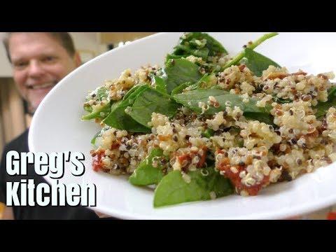 Quinoa Salad with Lemon Dressing Recipe - Greg's Kitchen