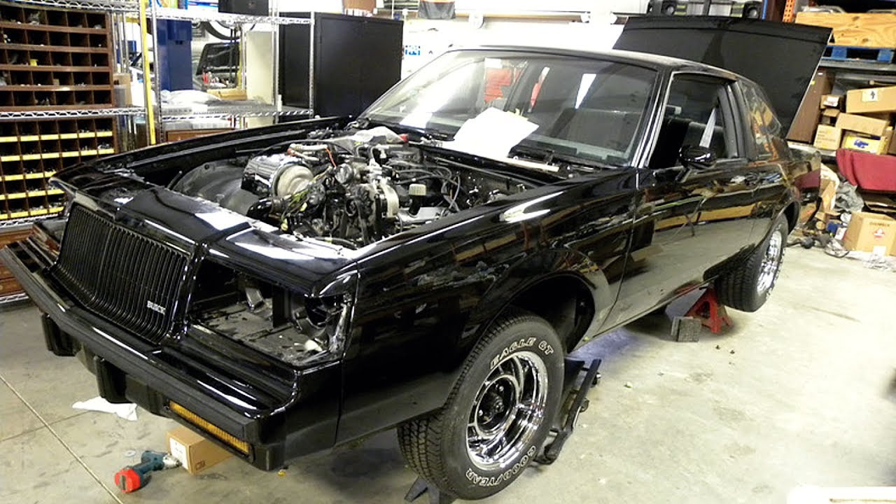 Abandoned 1987 Buick Regal Grand National GNX 3.8L V6 Turbocharged ...