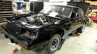 Abandoned 1987 Buick Regal Grand National GNX 3.8L V6 Turbocharged Restoration Project
