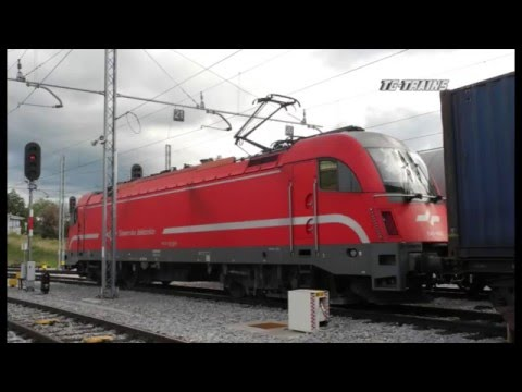 TG CL 141 SZ Cargo Cab Ride Koper to Ljubljana Traction TAURUS
