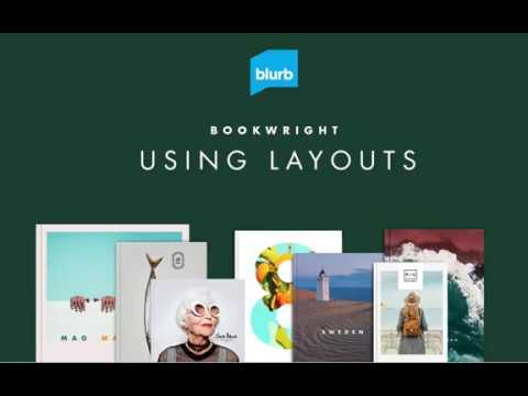 Using BookWright's Book Templates & Layouts - Blurb's Publishing Software