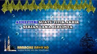 Karaoke Pulanglah - Aishah | Tanpa Vokal | Minus One | Lirik Video HD