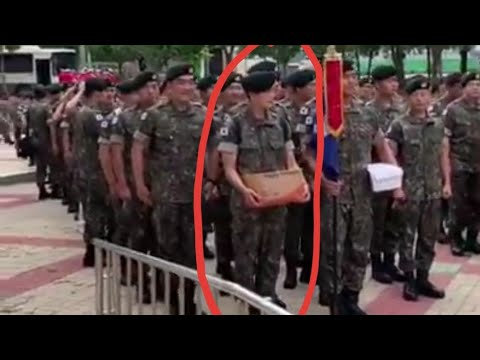 Park Hyung Sik  VIDEO Update In Military Service Training 7.18.2019