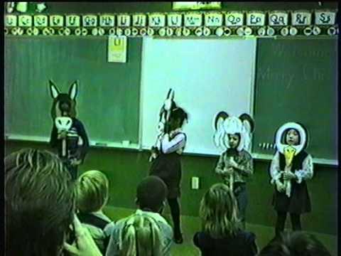 Part 7 1983 Christmas kindergarden play @ Christian Life center school Rockford, Illinois