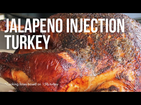Jalapeno Injection Turkey – A Spicy Twist on Traditional Thanksgiving Turkey