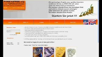 Forex 4 Free - Geld verdienen ohne einen Cent zu investieren (US/UK)