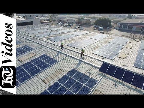 How a Dubai office runs successfully on solar power