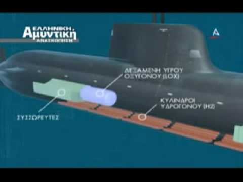 GREEK NAVY U-214 SUBMARINE