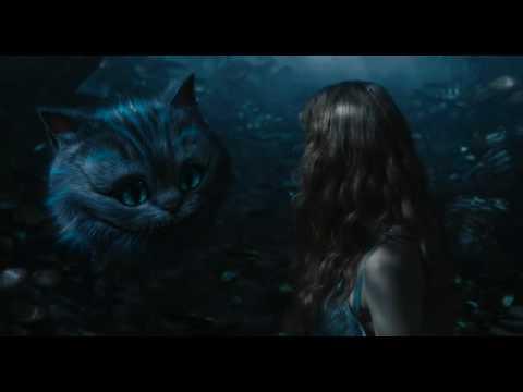 Alicia En El País De Las Maravilla De Tim Burton Escena El Gato De Chesire Disney Oficial