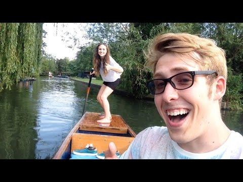 Punting In Cambridge | Evan Edinger Travel