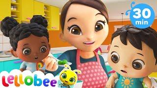 Yes Yes Vegetables Song | Healthy Habits Nursery Rhymes & Kids Songs | Little Baby Bum
