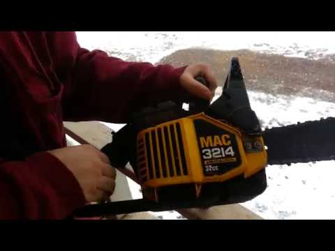 How to tighten a chain on a chainsaw mac 3214 youtube how to tighten a chain on a chainsaw mac 3214 keyboard keysfo Choice Image