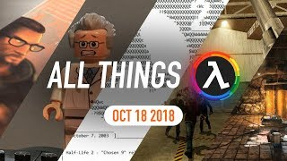 Half-Life Documentary Announced, Zombie Master Remake and More - All Things Lambda (Oct 18 2018)