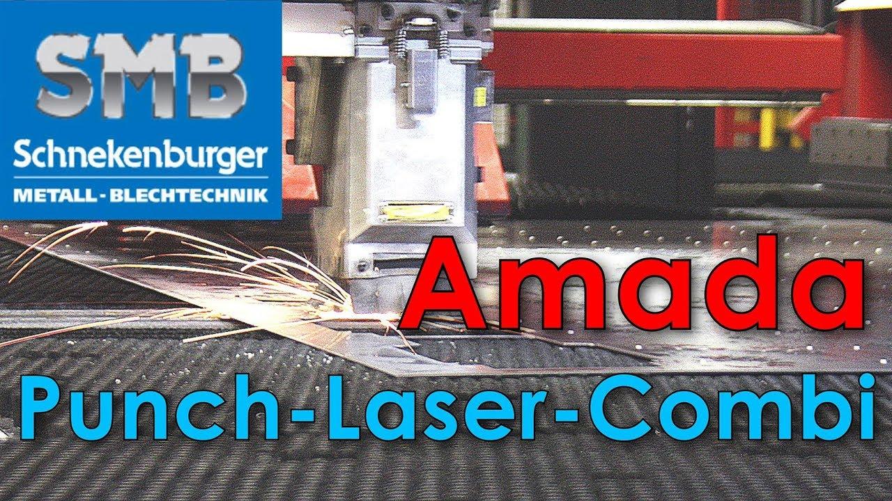 Amada EML PR3 L3 - punch laser combi - cadcam nesting software -  Schnekenburger controlled by WiCAM