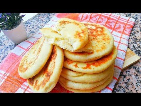 recette-pains-au-lait-cuisson-à-la-poêle-facile-cuisine-marocaine