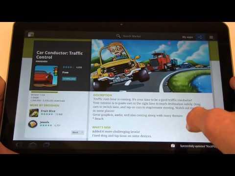 Samsung Galaxy Tab 10.1V - Apps