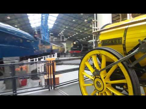 Tour of the National Railway Museum 1/5/16