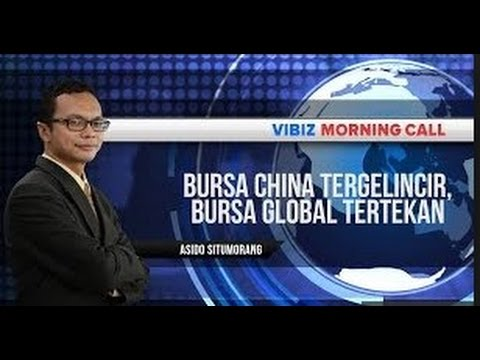 Berita Bursa China Tergelincir, Bursa Global Tertekan,Vibiznews 9 Juli 2015