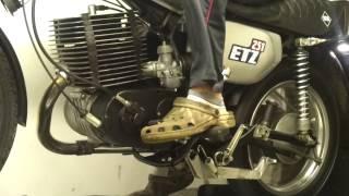 Oldtimer Racing Parts MZ ETZ 301 Prüfstandslauf