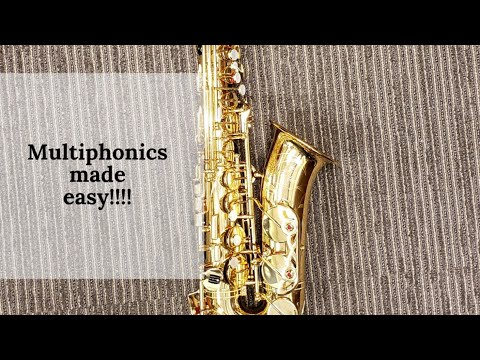 Multiphonics made EASY