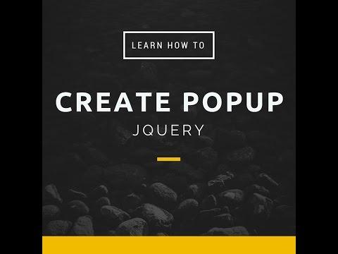 JQuery Popup Window