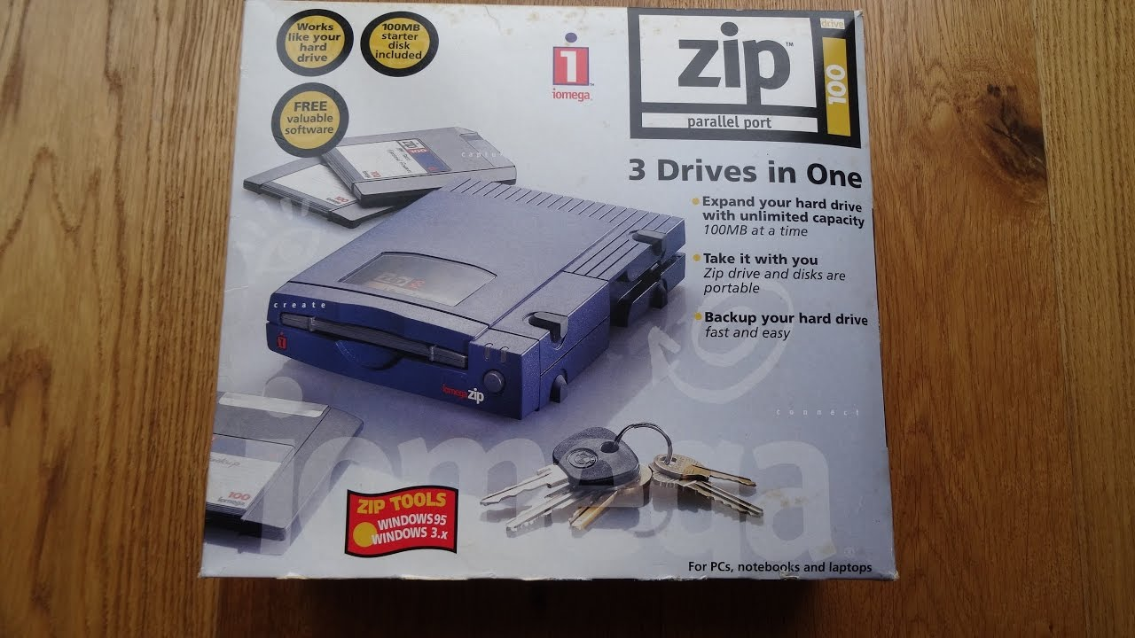 IOMEGA 100MB ZIP DRIVERS FOR WINDOWS 7