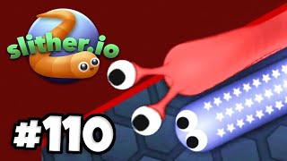 WORLD RECORD .io PLAYER IS BACK! - Slither.io - Gameplay Part 110