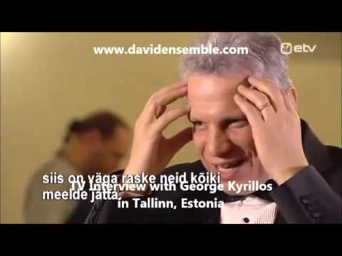 Estonia TV Interview with George Kyrillos