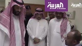 محمد بن سلمان يزور حماة الحرم المكي من الارهاب