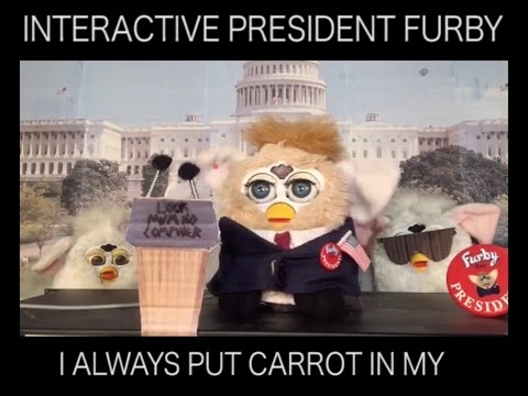 #Furby BEST OF INTERACTIVE #DONALD TRUMP FURBY PRESIDENT