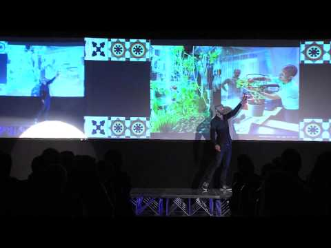 Creating with communities: Angelo Vermeulen at TEDxSantiago ...
